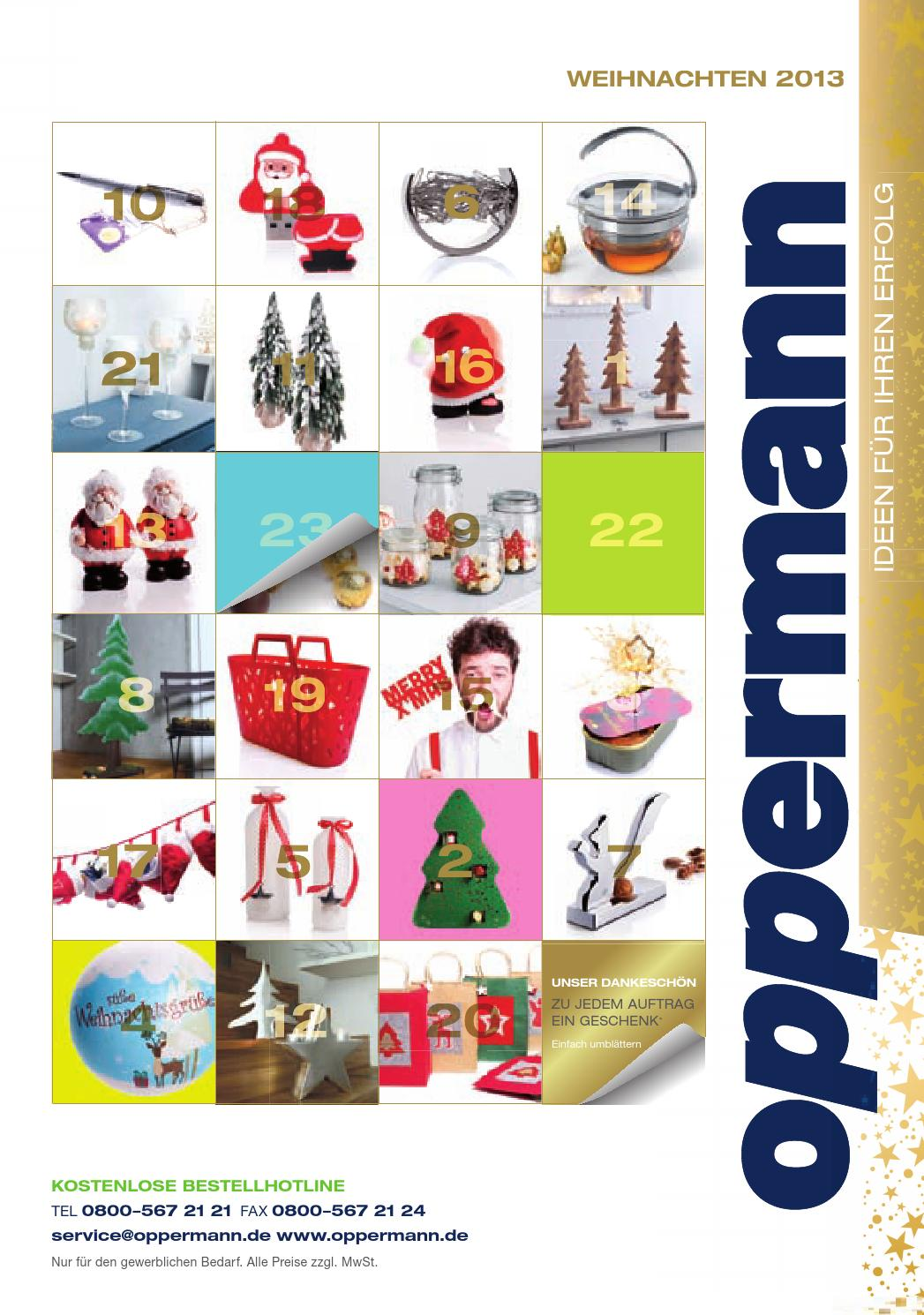 Oppermann Weihnachten 2013 By Hach Gmbh Co Kg Issuu