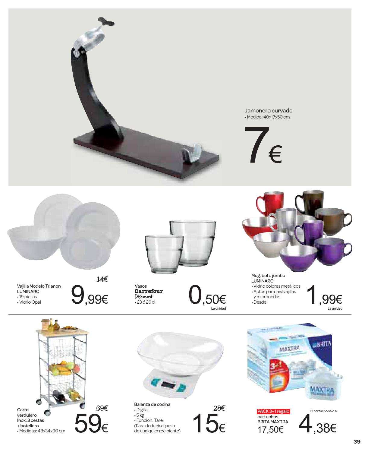 Balanza Cocina Carrefour Catalogo Carrefour 70 Descuento By Carrefour Online Issuu