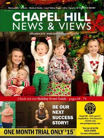 Chapel Hill News  Views - December 2013 by Lindsey Robbins - issuu