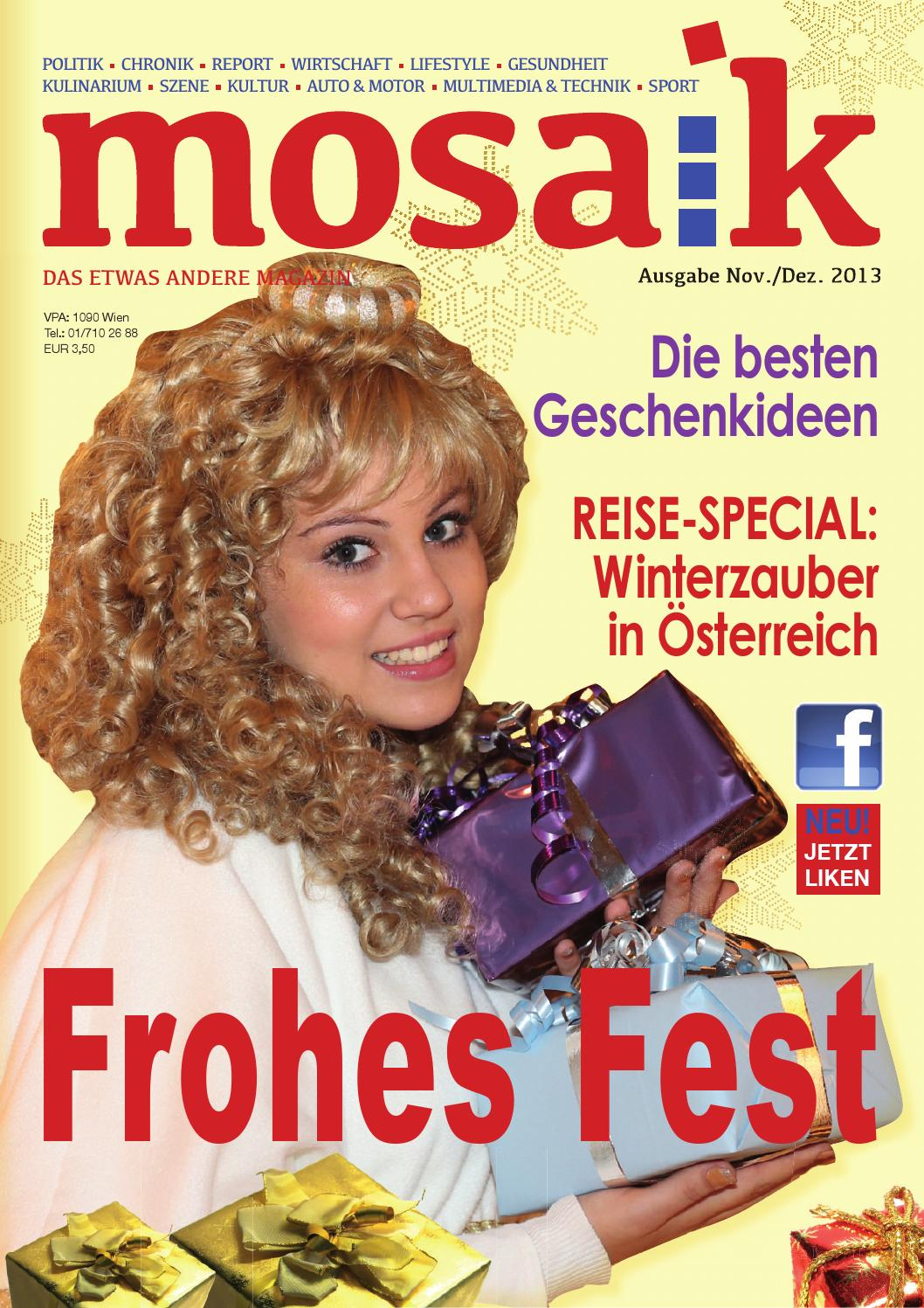 Mosaik Magazin Mosaik November Dezember By Mosaik Magazin Issuu