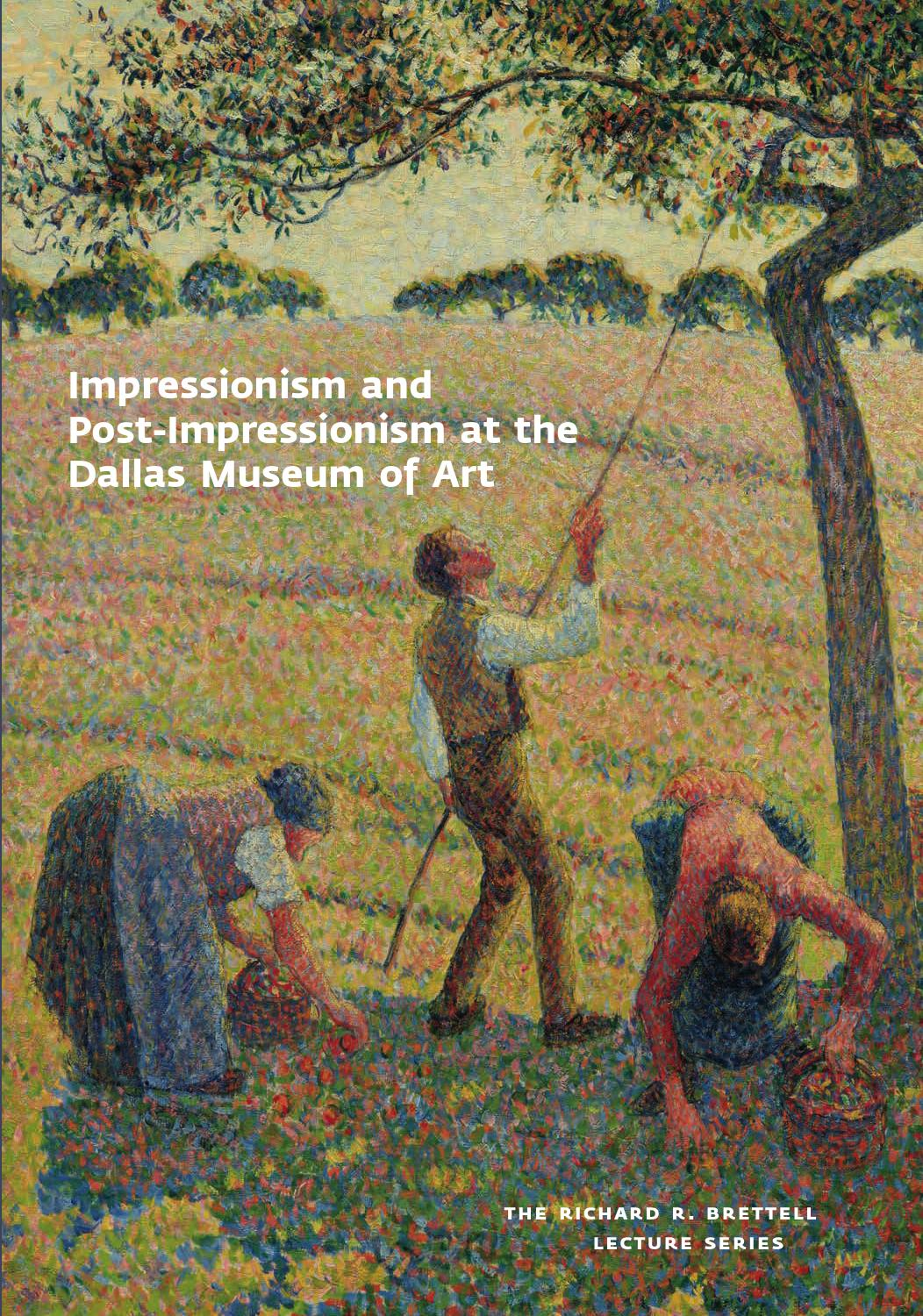 Arte Definition Francais Impressionism And Post Impressionism At The Dallas Museum Of Art