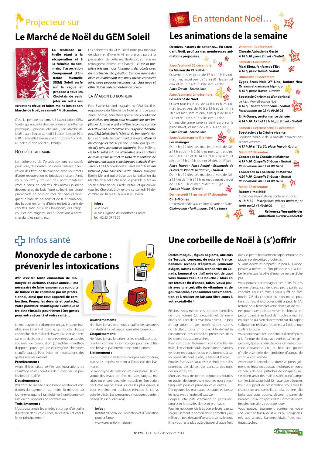 Prevention-maison.fr Synergences Hebdo N 320 By Agglomération Du Choletais Issuu