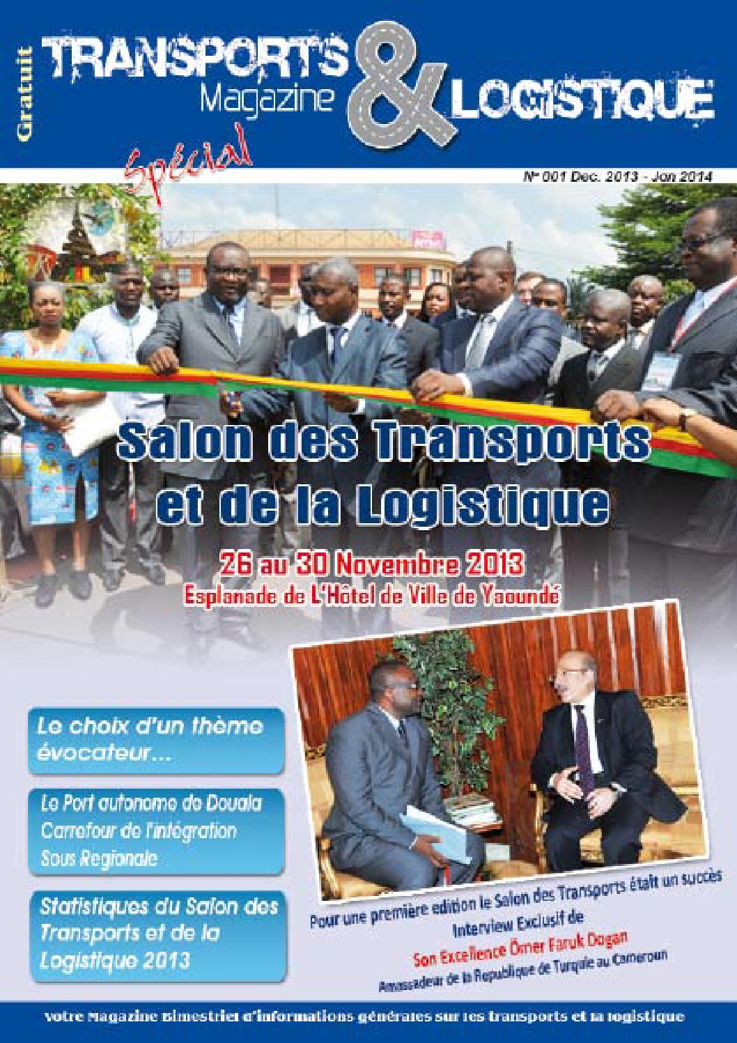 Magazine Transport Logistique By Salon Economique Cameroun Nigeria Cameroondays Issuu