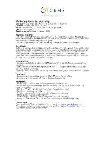 Marketing Intern Job Description Pacific Symphony Public Relations - marketing intern job description