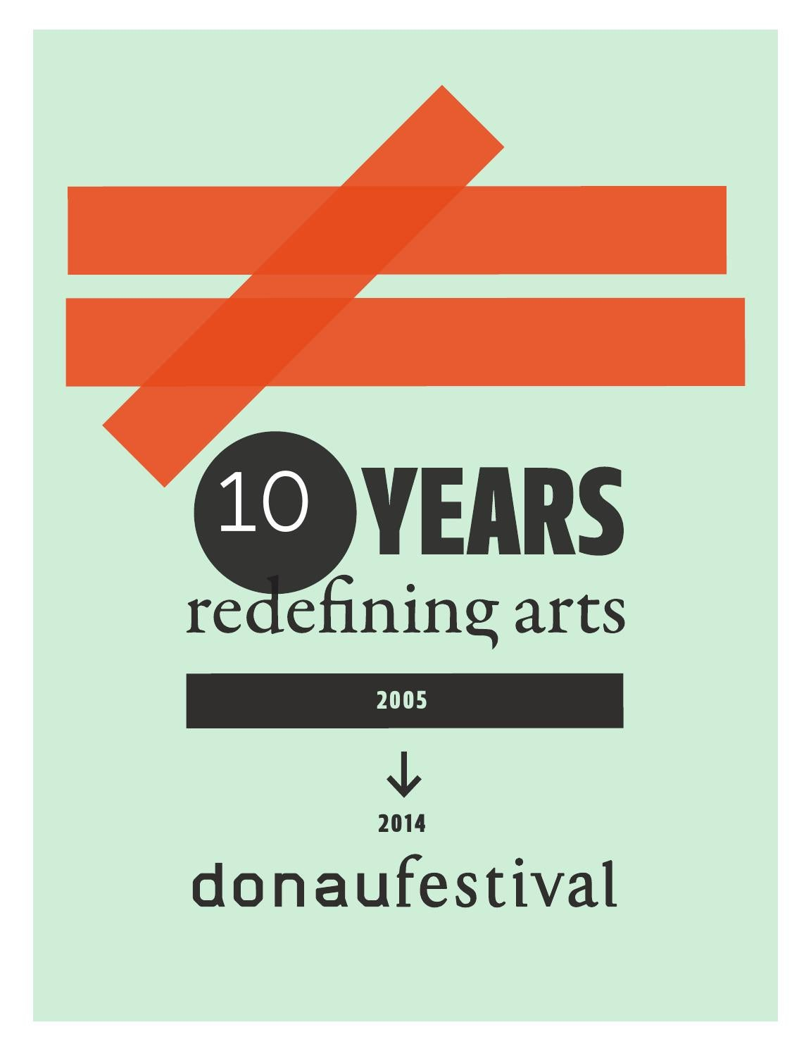 Donaufestival Magazin By Klaus Moser Issuu