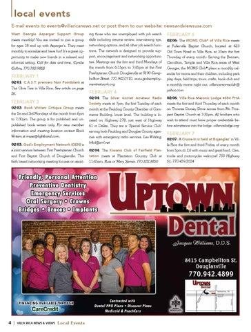 Villa Rica News  Views - February 2014 by Lindsey Robbins - issuu
