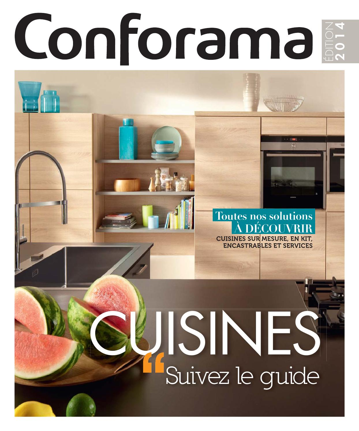 Cuisine Salsa Conforama Catalogue Conforama Guide Cuisines 2014 By Joe Monroe Issuu