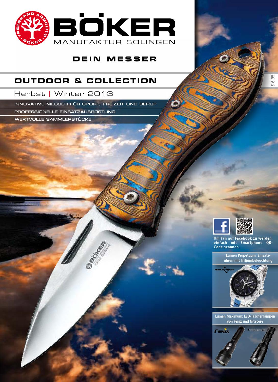 Boker 2013 2 Outdoor Collection By Kuhada Issuu