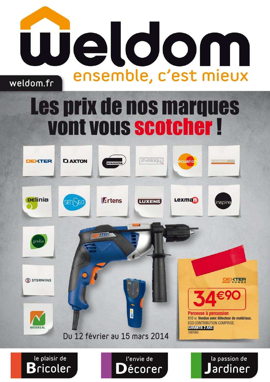 Weldom Lambris Pvc Weldom Catalogue 12fevrier 15mars2014