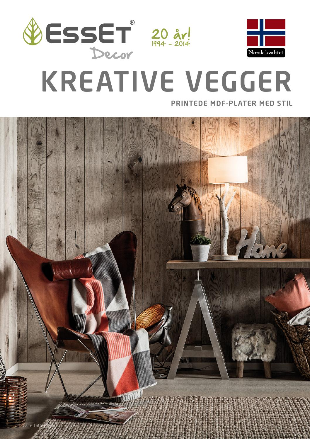 Plater Interiør Veggpanel Esset Decor Kreative Vegger By Haakon Sundbø Issuu