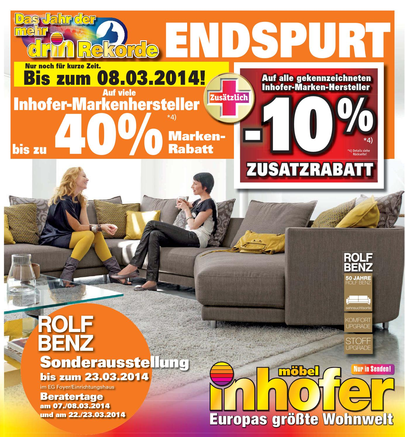 Inhofer Schlafzimmer Kommode Inhofer Endspurt Kw 9 10 By Media Service Ostalb Gmbh Issuu