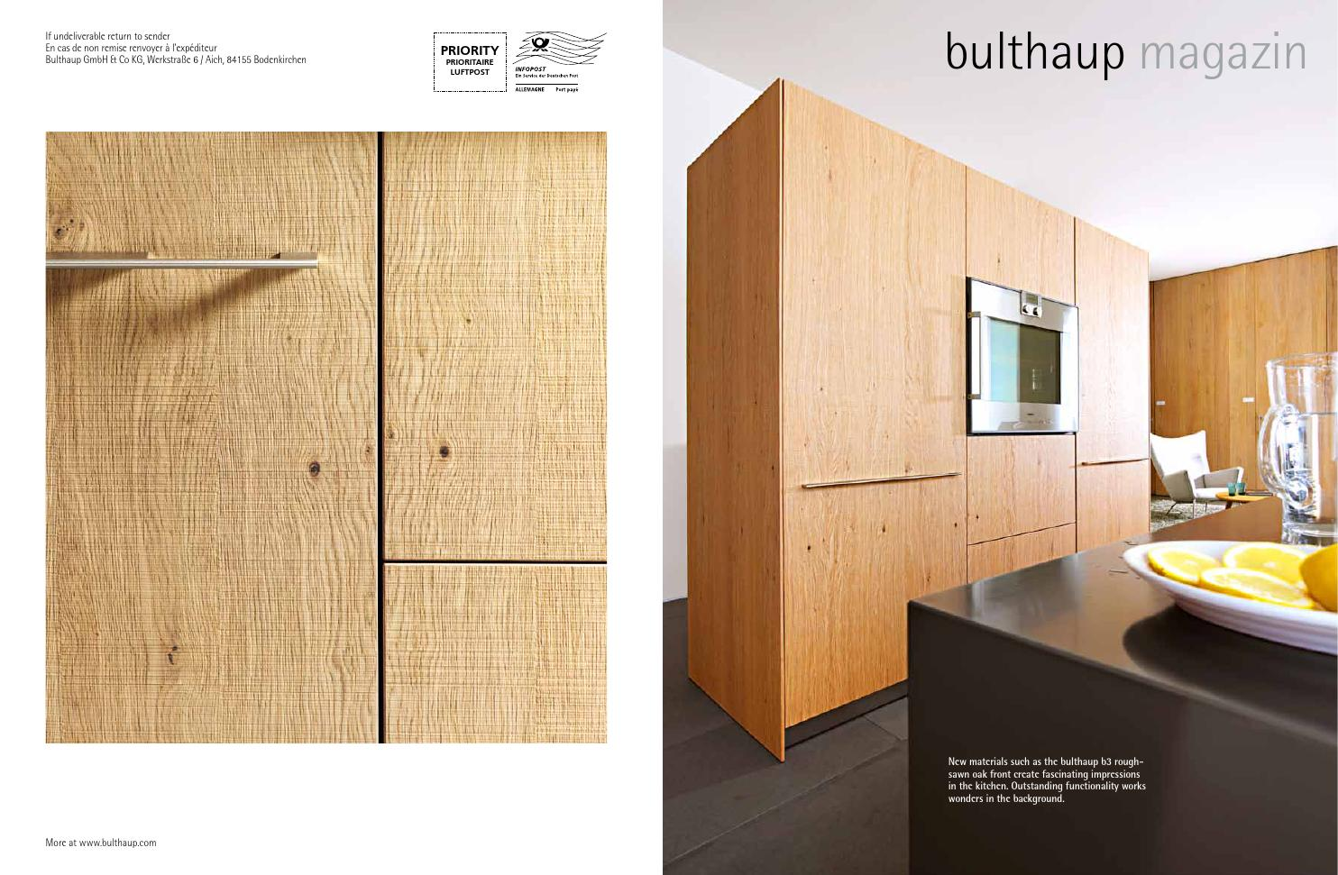 Bulthaup B3 Xtra Bulthaup Magazine By Xtra Furniture - Issuu