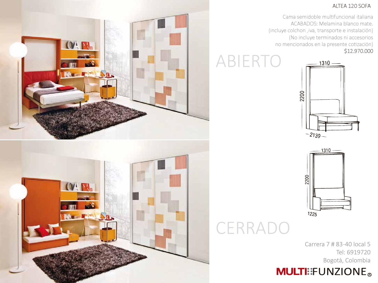 Altea 120 Sofa Altea 120 By Multifunzione Colombia Issuu