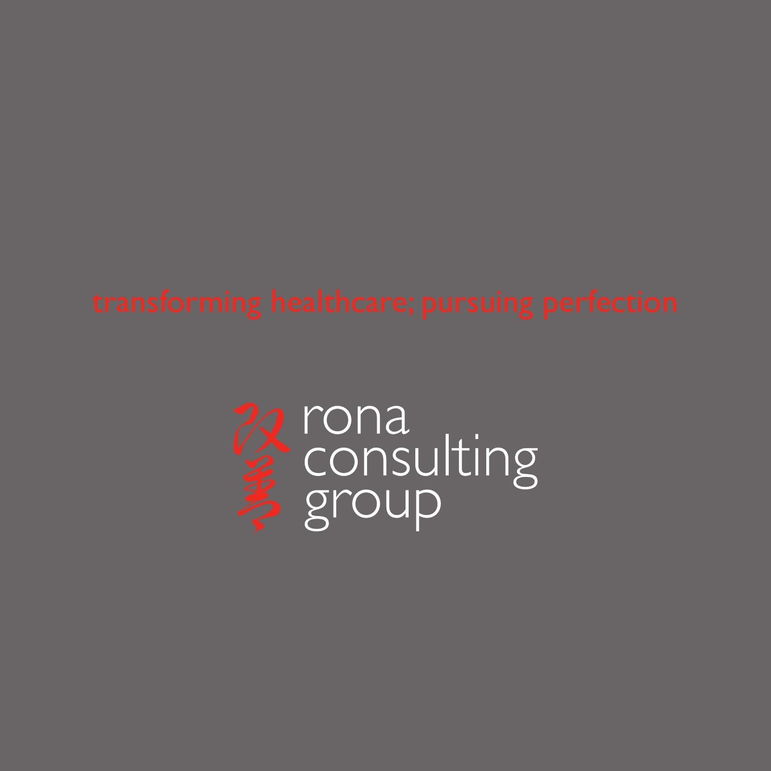 Rona Moving Boxes Rona Consulting Group Brochure 2014 By Rona Consulting Group The
