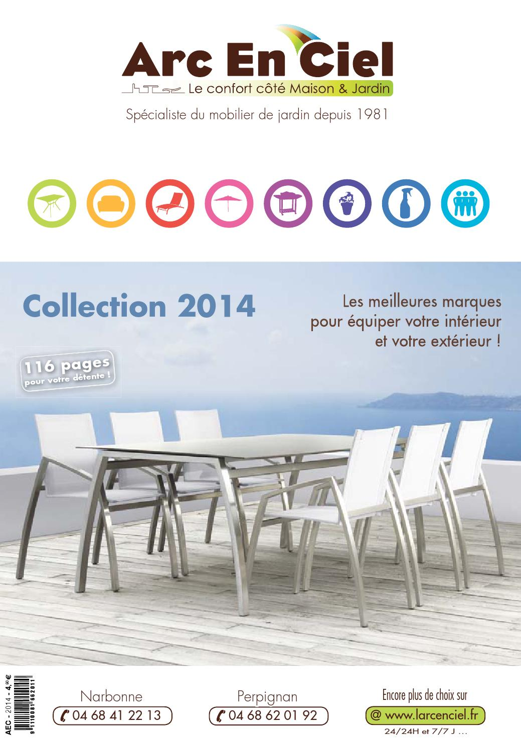 Store Exterieur Narbonne Catalogue Arc En Ciel 2014 By Igloo Issuu
