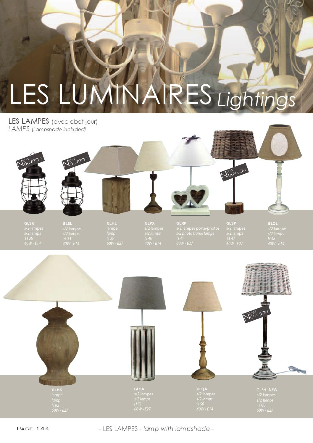 Lampe 40w Country Corner 2014 Decorations By Interiér De Lart Issuu