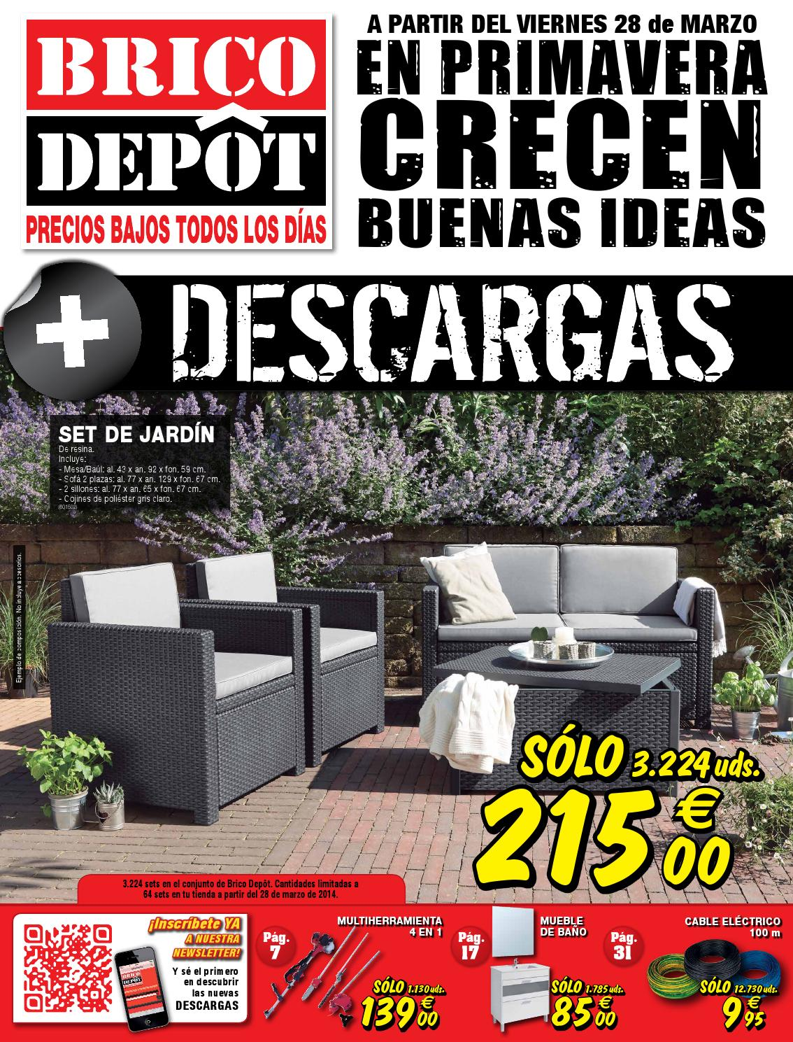 Barbacoas De Leña Bricodepot Bricodepot Catalogue 28marzo 10abril2014