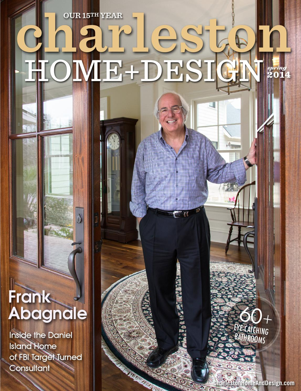 Combine Lit Bureau Junior Charleston Home Design Magazine Spring 2014