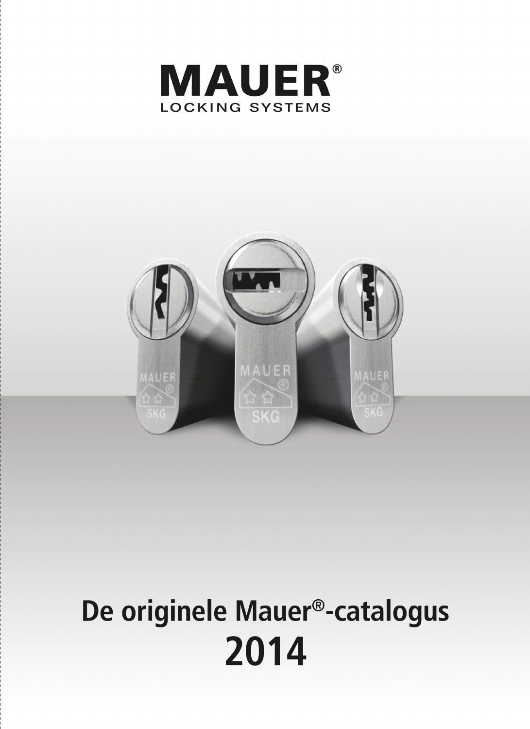Deurbuffer Voor Stalen Kozijn Mauer Catalogus 2014 By Amyweb Issuu