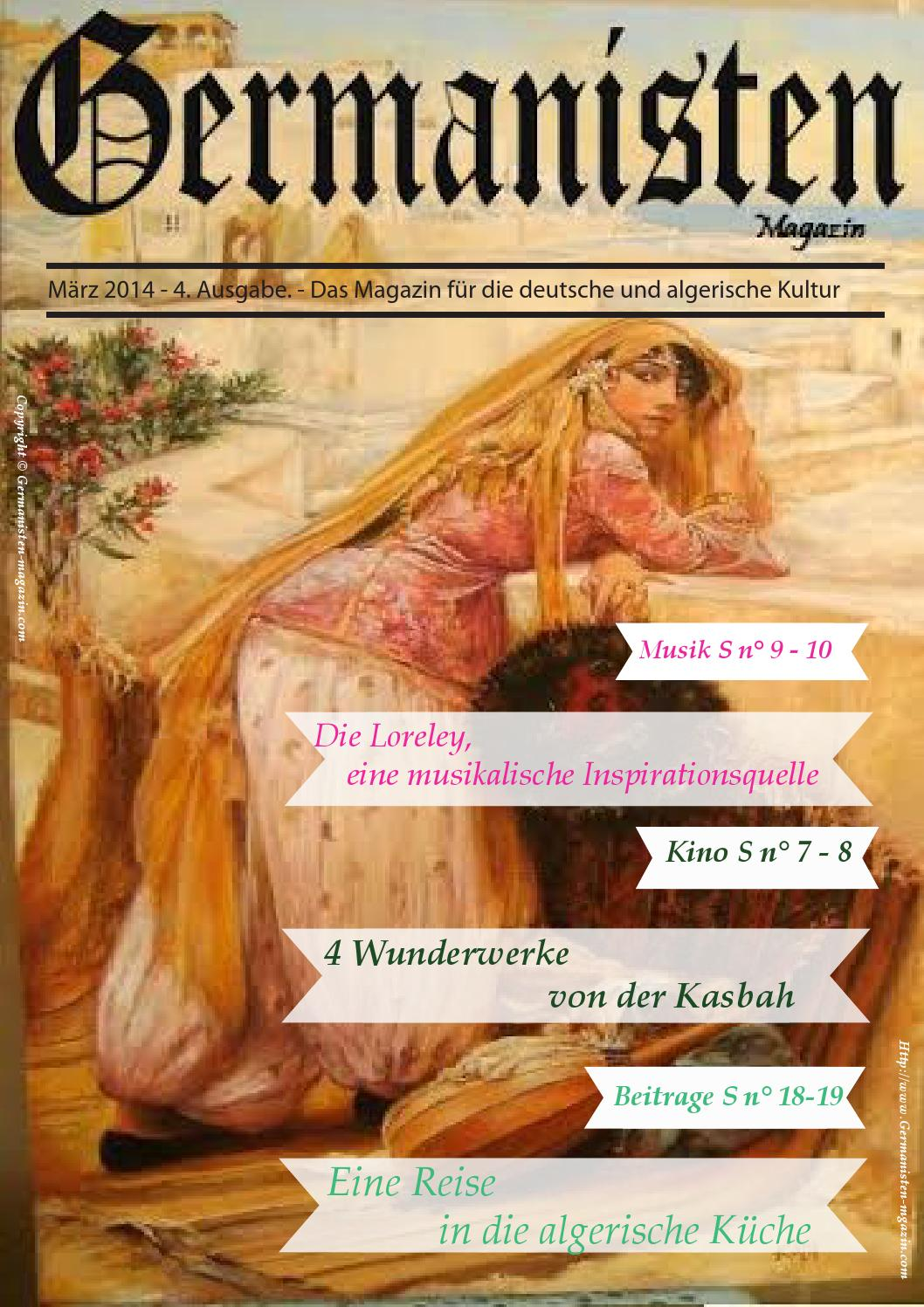 Algerische Küche Germanisten Magazin 4 Ausgabe By Germanisten Magazin Issuu
