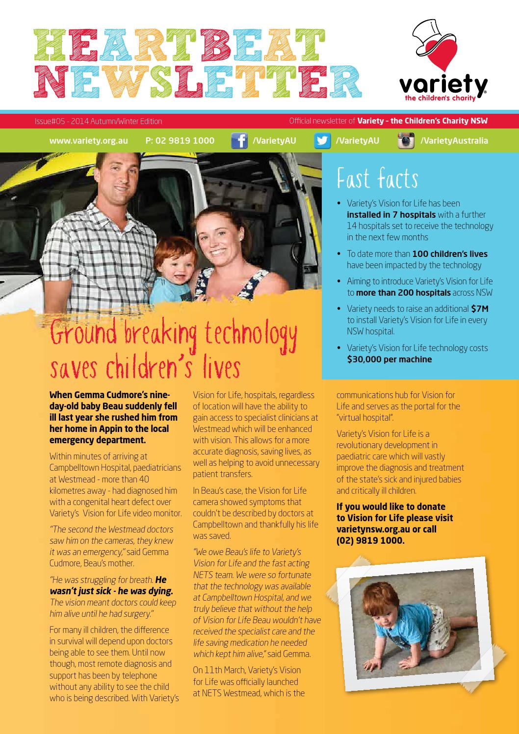 Baby Store Campbelltown Variety Heartbeat Newsletter Issue 5 By Variety Nsw Issuu