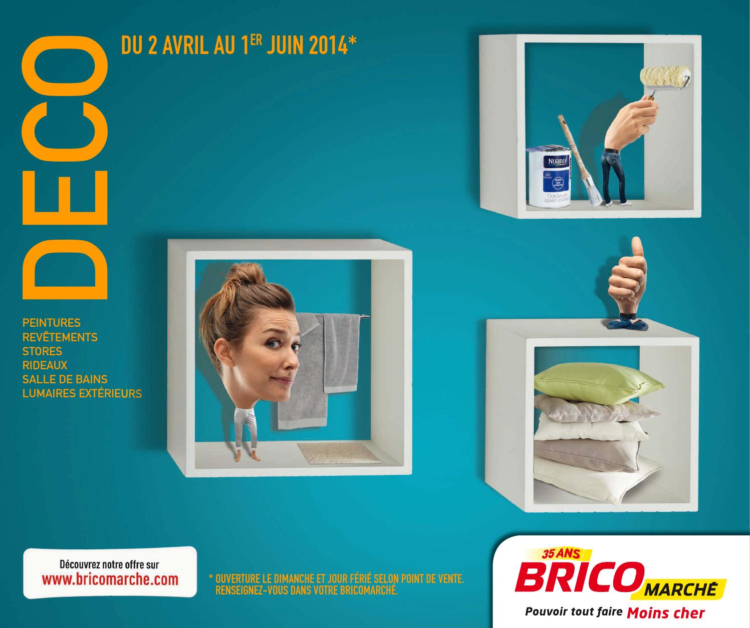 Spot Led Exterieur Bricomarche Catalogue Bricomarché 2 04 1 06 2014