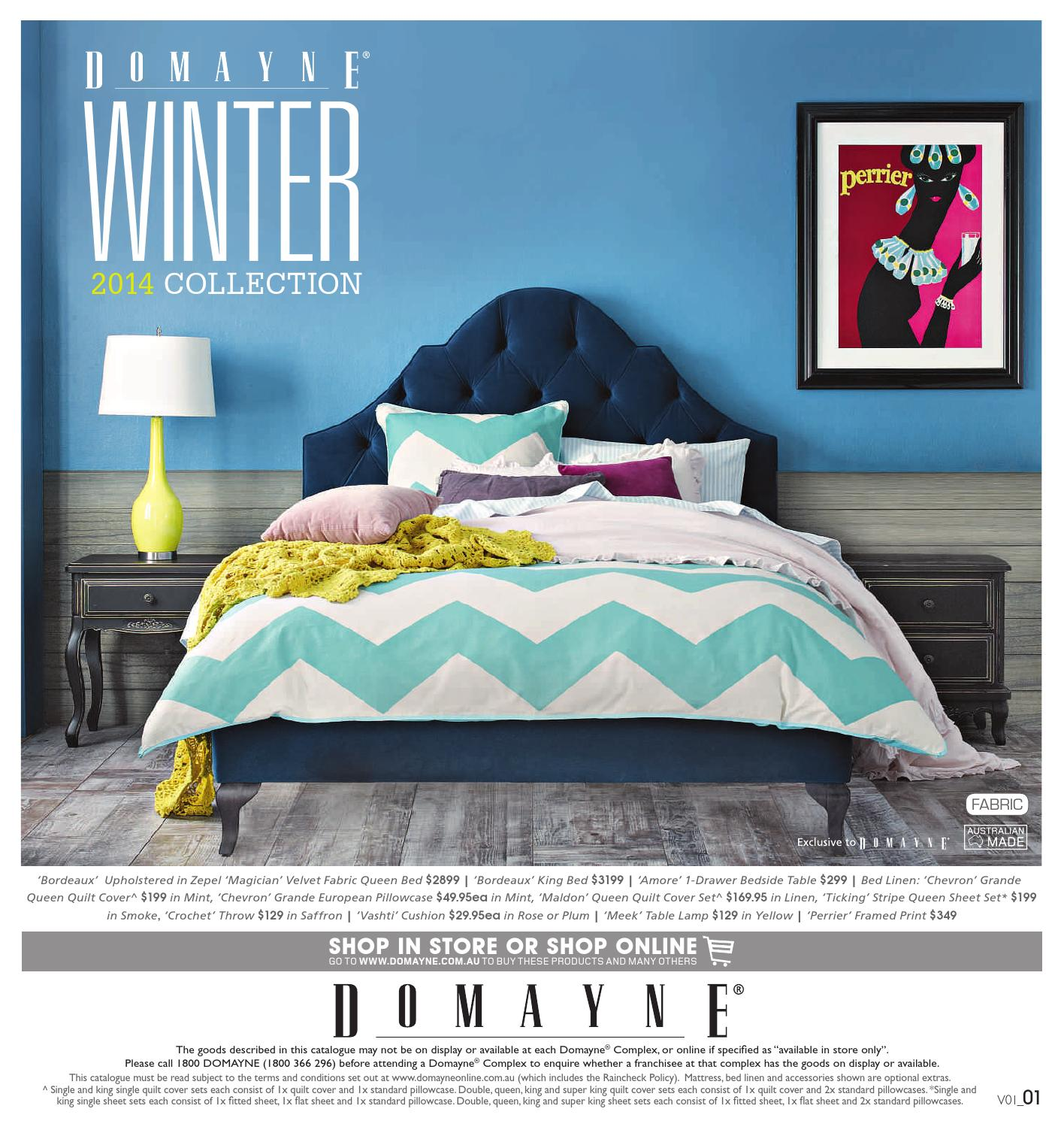 Domayne Beds Catalogue April Winter Catalogue By Domayne Issuu
