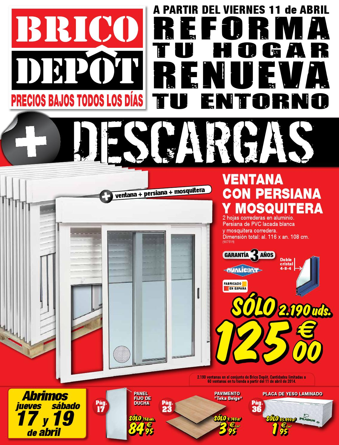 Ventanas Bricodepot Bricodepot Catalogue 11 24abril2014 By Catalogopromociones