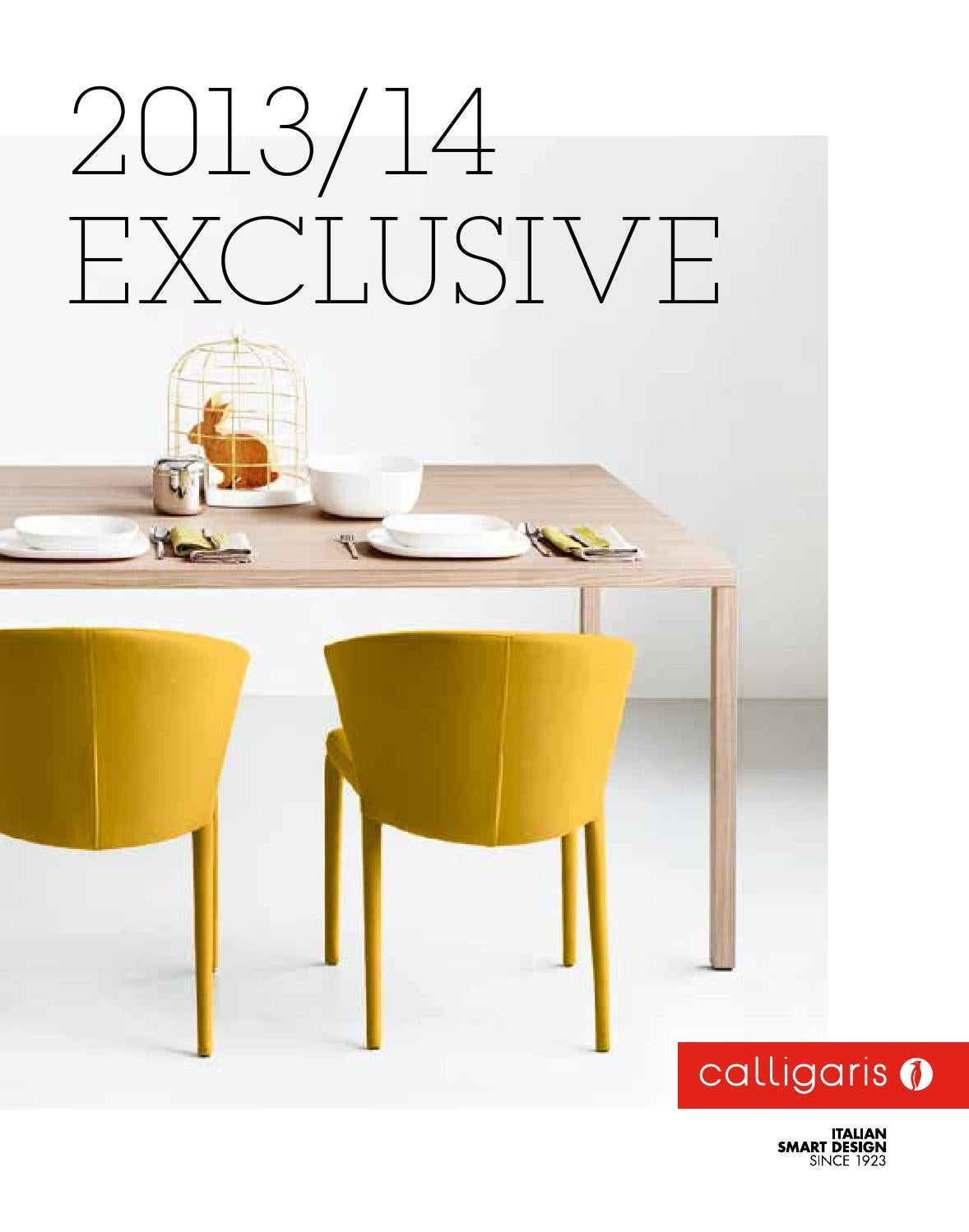 Calligaris Exclusive 2013 By Art Of Living By Rafos Issuu - Sedie Calligaris Fine Serie