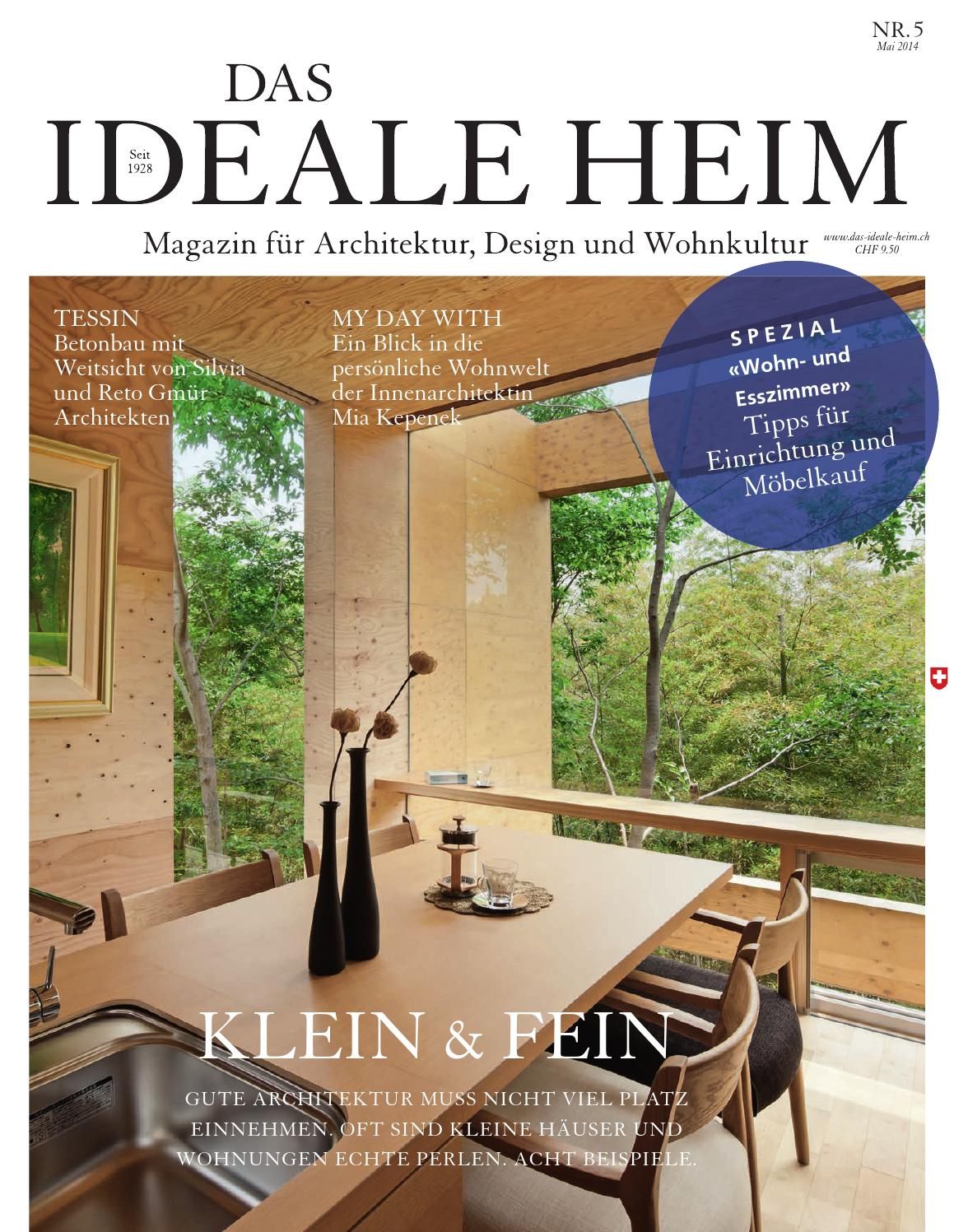 Das Ideale Heim 05 2014 By Archithema Verlag Issuu