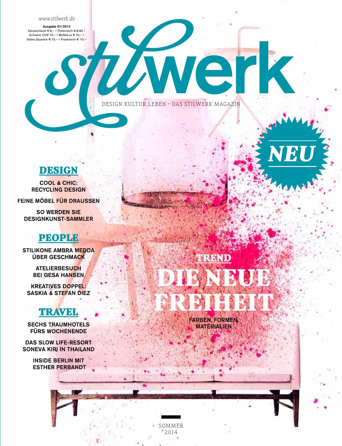Stilwerk Magazin Freiheit Sommer 2014 By Stilwerk Issuu
