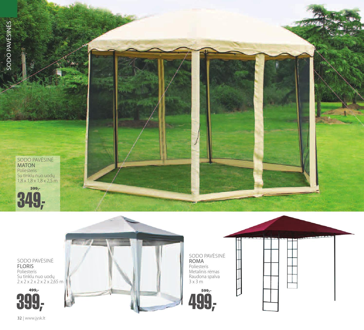 Jysk Tent Jysk Lithuania Summer Catalogue 2014 By Jysk Issuu