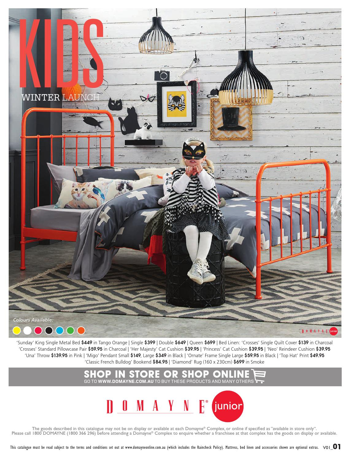 Domayne Beds Catalogue Kids Bedding Launch By Domayne Issuu