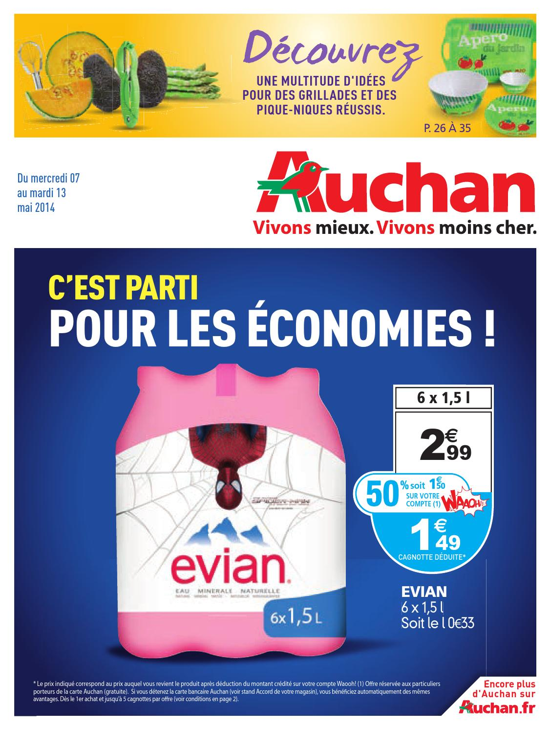 Meuble Auchan Sarcelles Anti Crise Fr Catalogue Auchan Du 7 Au 13 Mai By Anti Crise Fr
