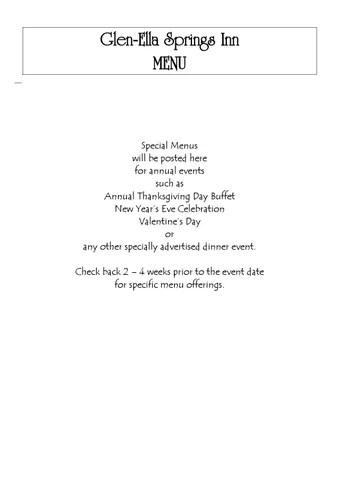 Special menu template by ioana niculescu - issuu - event menu template