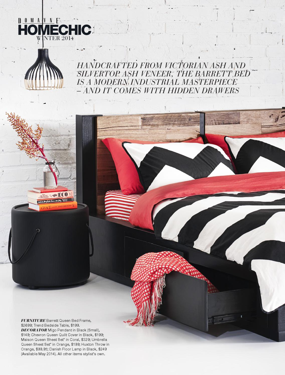 Domayne Beds Catalogue Home Chic By Domayne Issuu