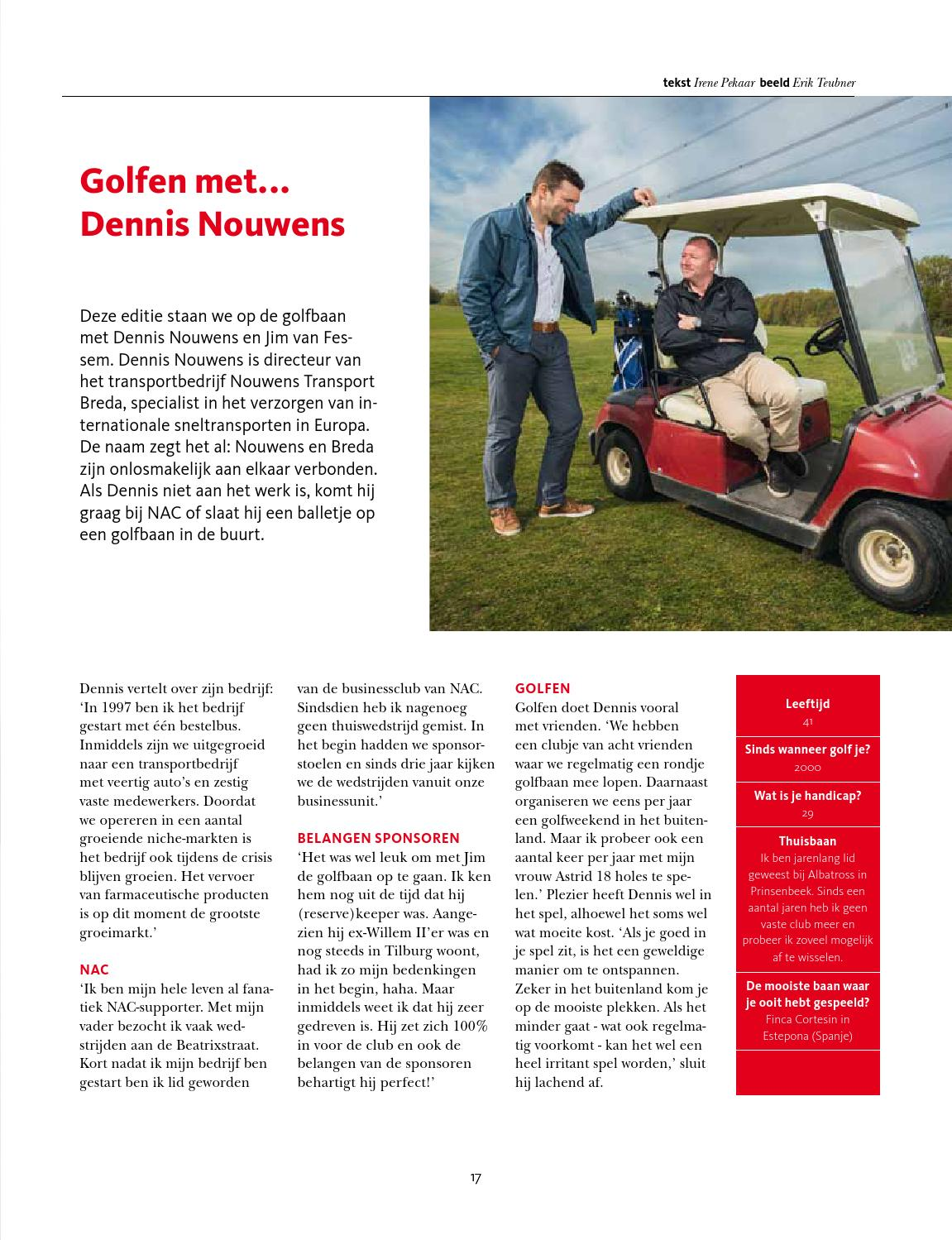 Golfbaan Breda Bvo Mei Jun 2014 By Nacmedia Issuu