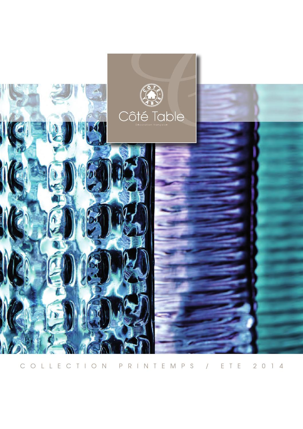 Cote Table Catalogue Catalog Côté Table 2014 Janvier By Cote Table Issuu