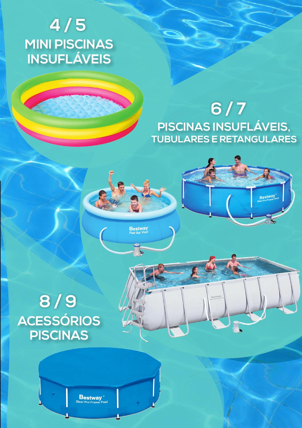 Piscinas Tubulares Bestway Oferta De Piscinas Decathlon Verão 2014 By Decathlon