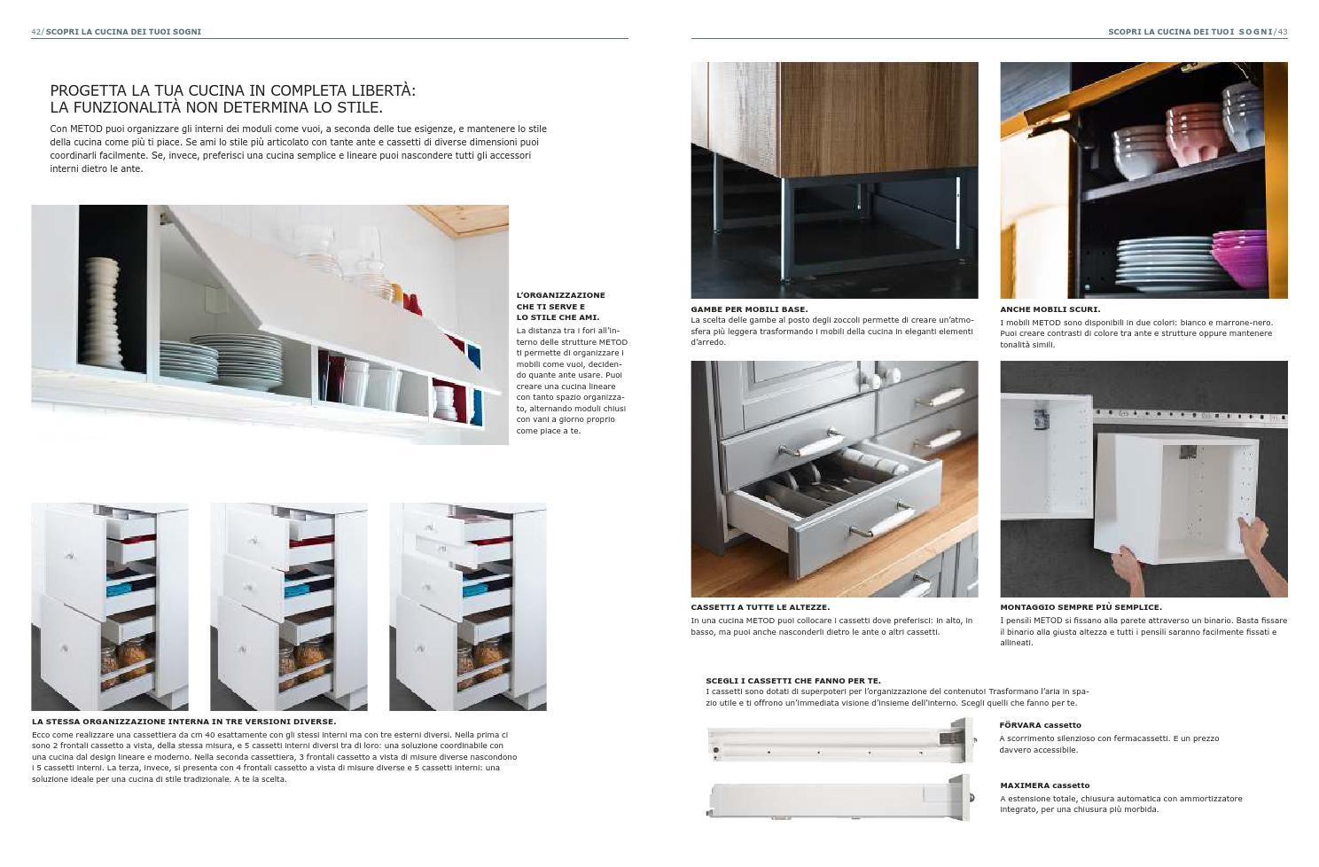 Come Organizzare Cassetti Della Cucina | Dispensa Cucina E Piani Di ...