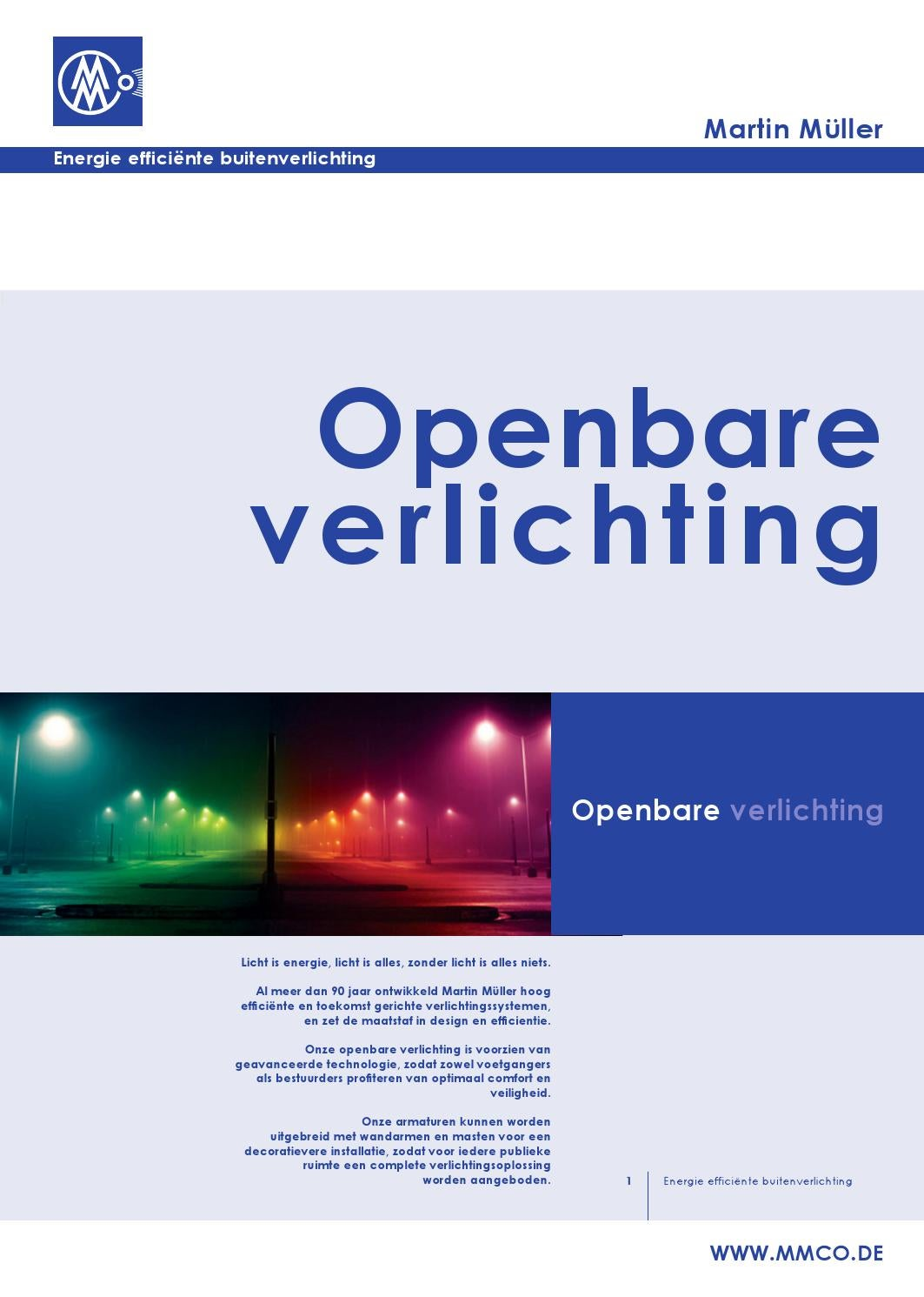 Martin Verlichting Folder Ned Saturnus By Jan Brinkerink Issuu