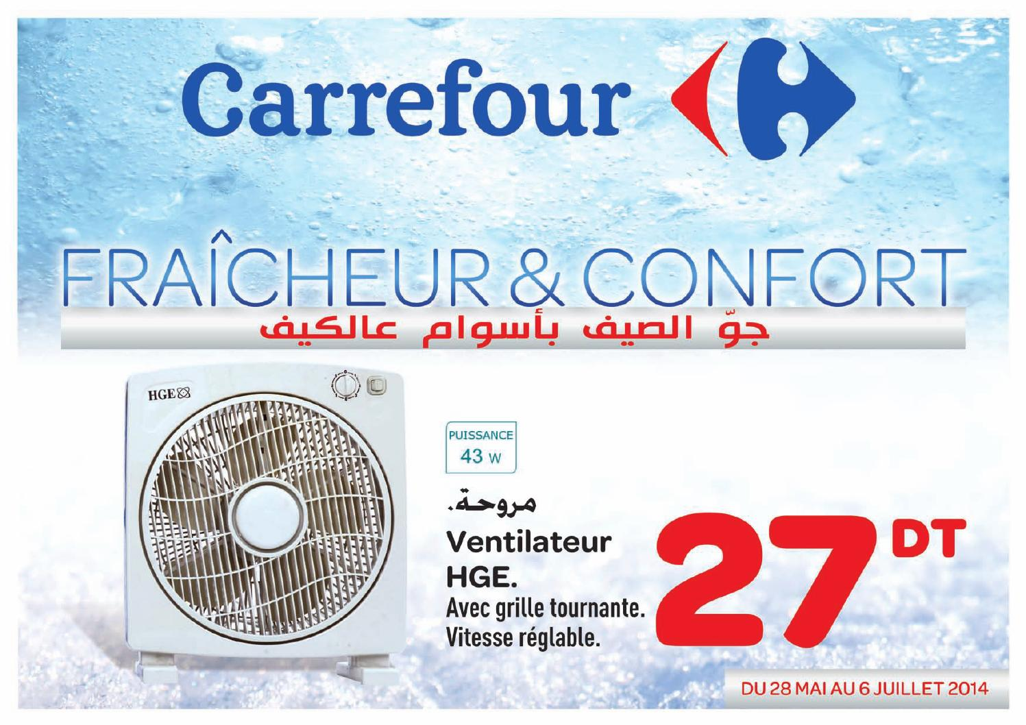 Ventilateur Colonne Carrefour Catalogue Carrefour 100 Froid By Carrefour Tunisie Issuu
