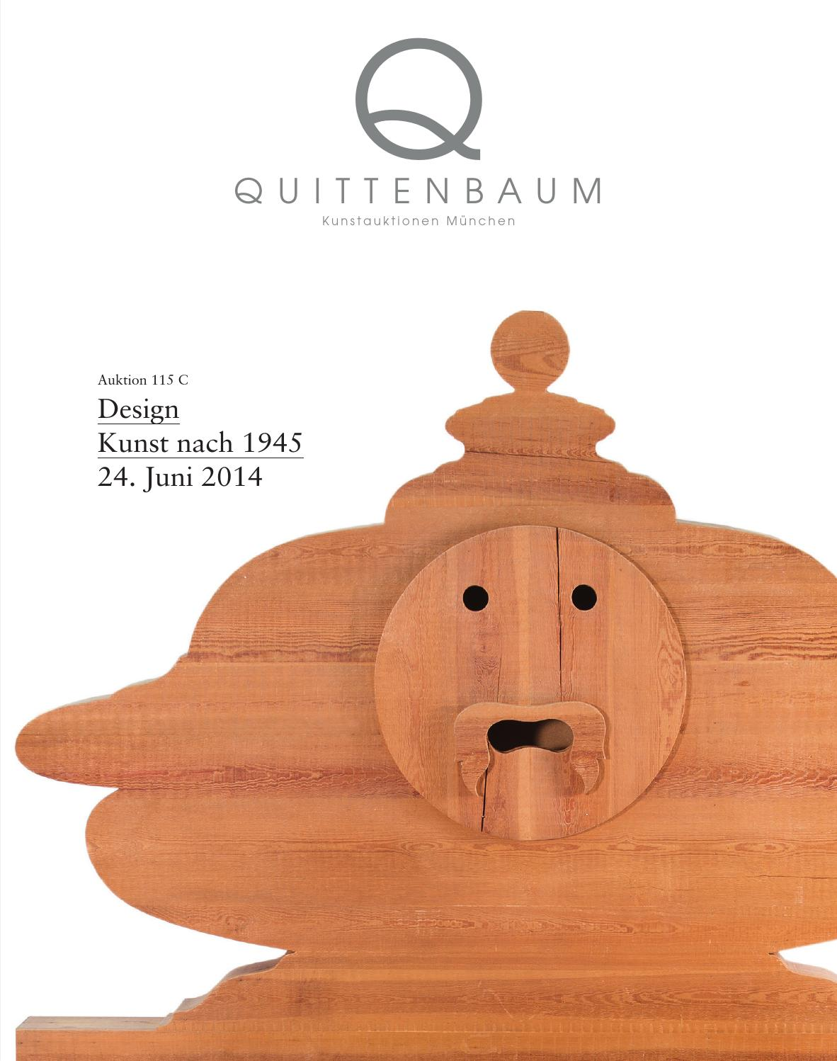 Auction 115c Design Post War And Contemporary Art Quittenbaum Art Auctions By Quittenbaum Kunstauktionen Gmbh Issuu