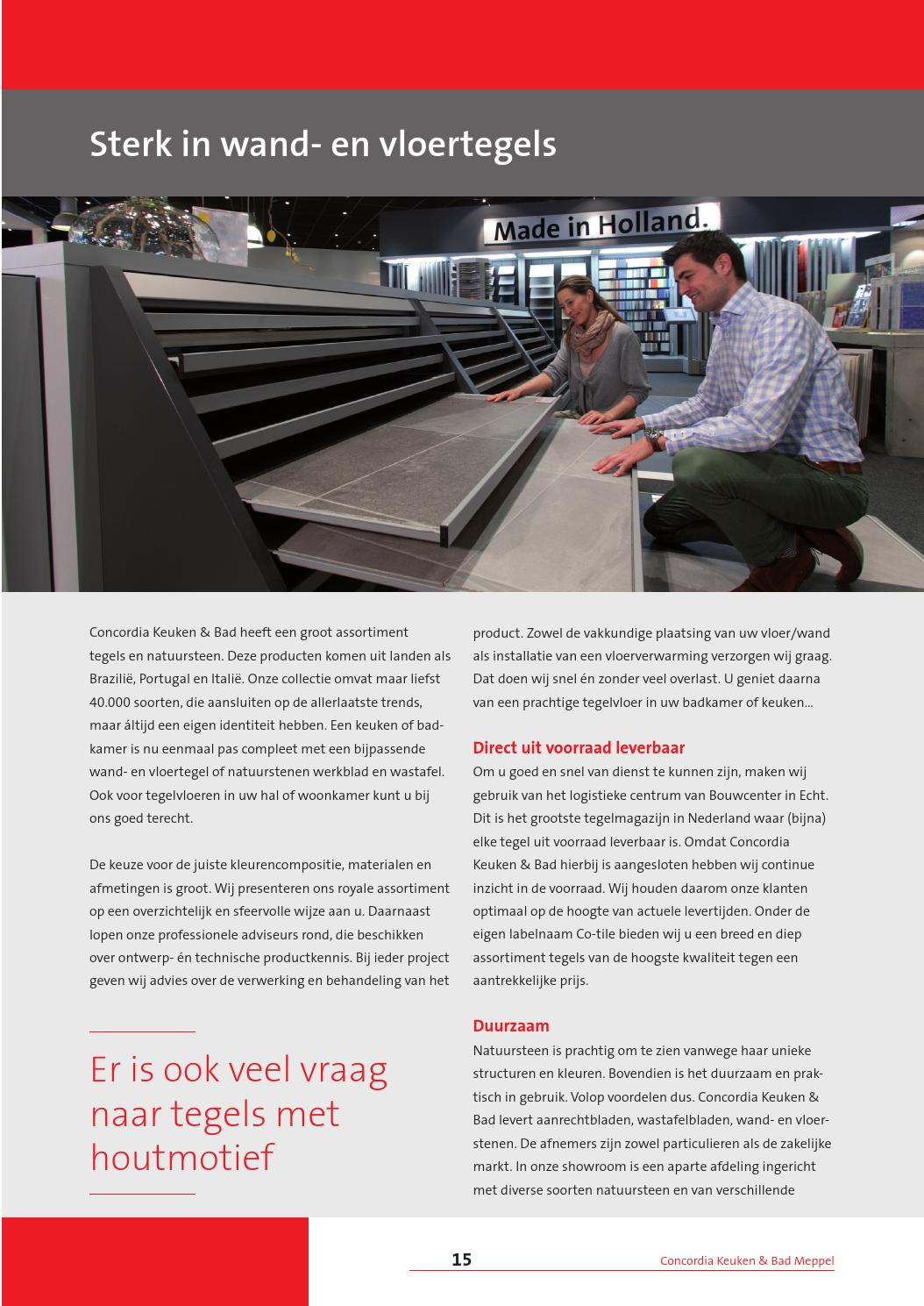 Concordia Keuken & Bad Meppel Concordia By Great Magazines Issuu