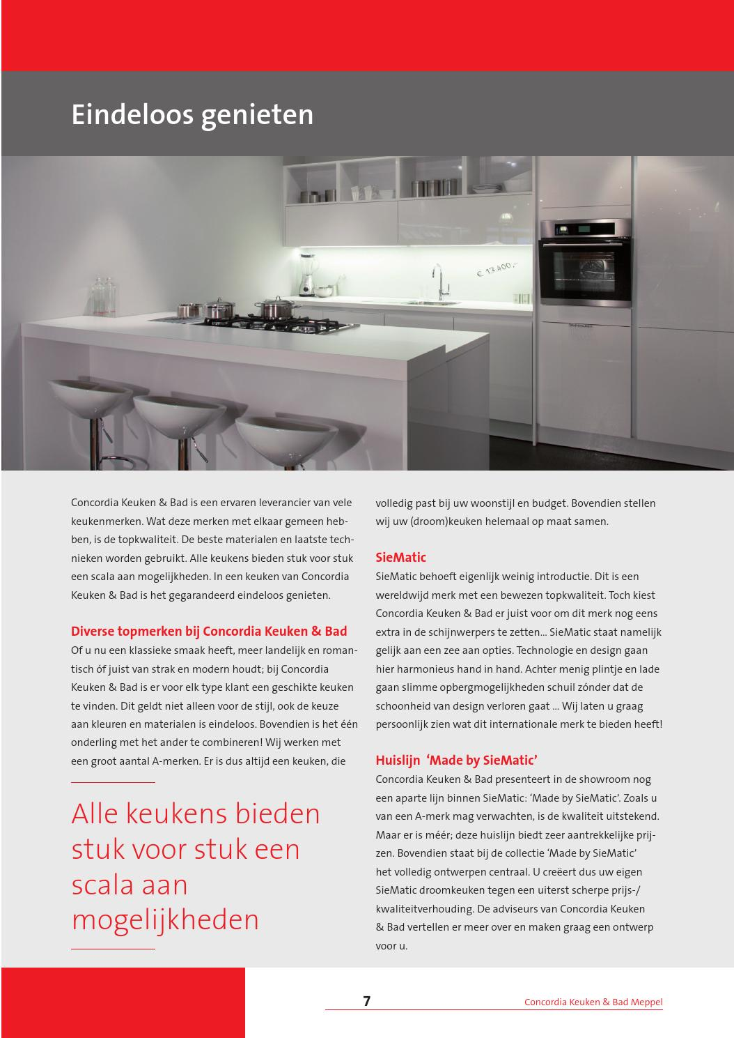 Keuken Merken Concordia By Great Magazines Issuu