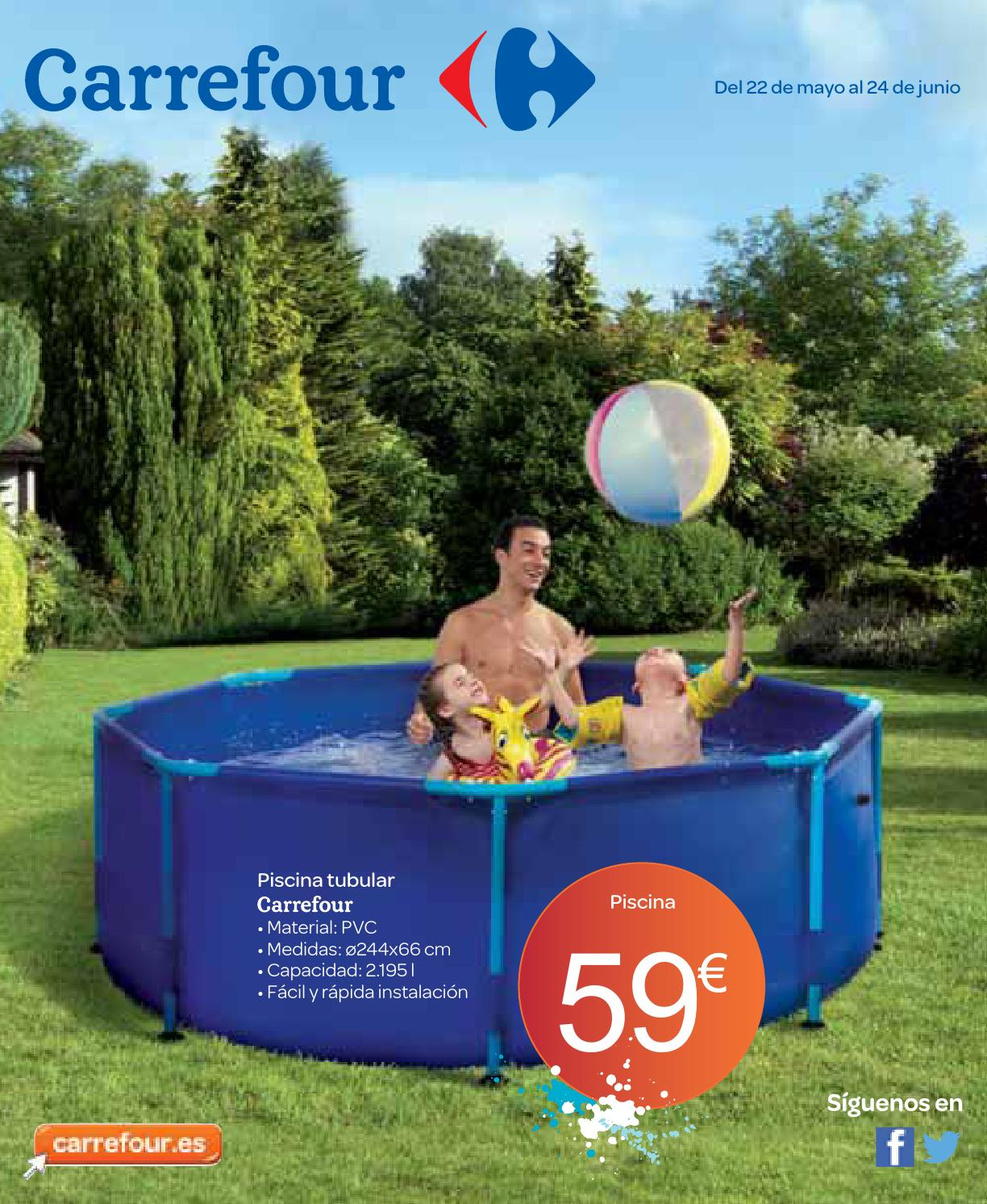 Catalogo De Piscinas Desmontables Carrefour Piscina Desmontable En Carrefour
