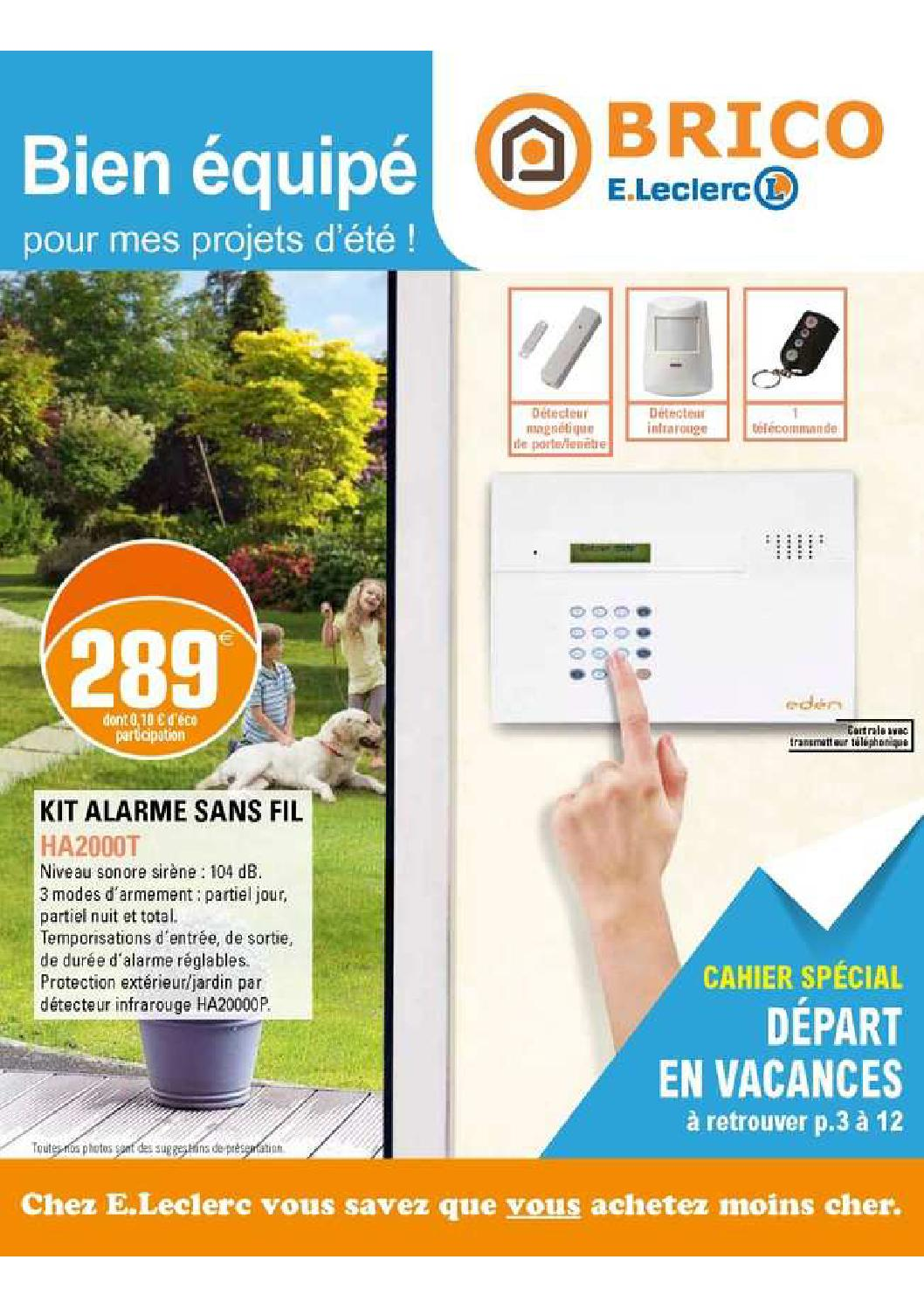 Pub Leclerc Jardin Catalogue Brico Leclerc By Anti Crise Fr Issuu