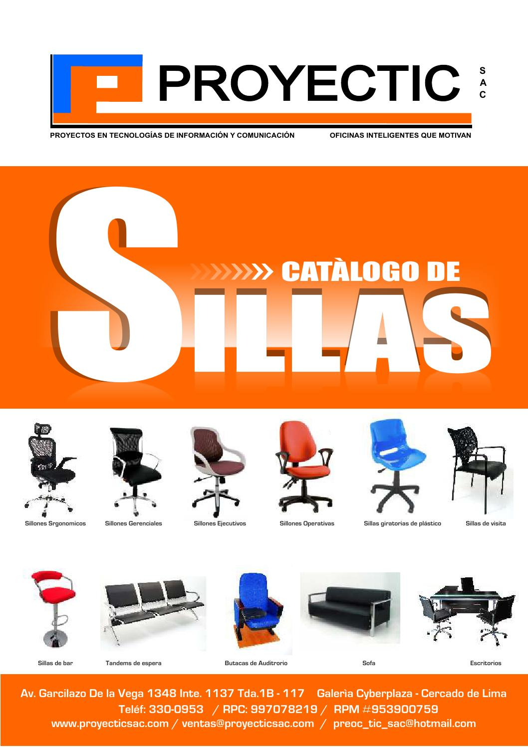Catalogo De Sillas Proyectic Catalogo De Sillas By Proyectic Issuu