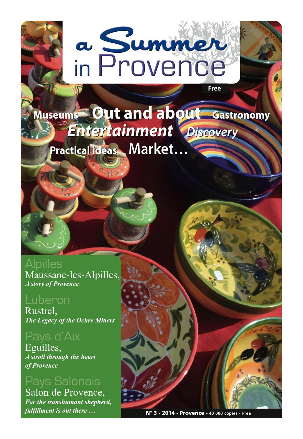 Cuisines Fabre Robion 84 A Summer In Provence 2014 By A Summer In Provence Issuu