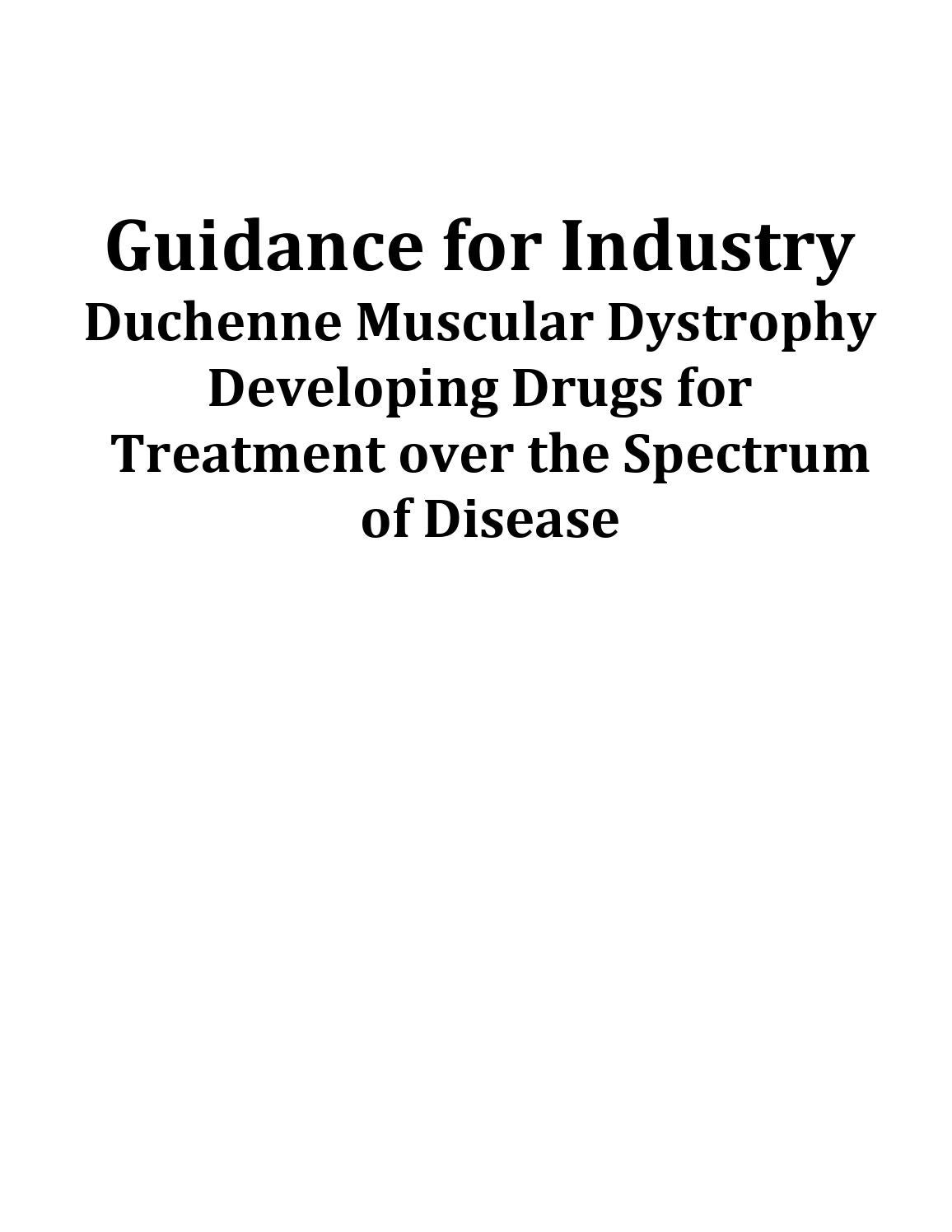 Duchenne Muscular Dystrophy Symptoms Management And Prognosis Guidance For Industry By Parent Project Muscular Dystrophy